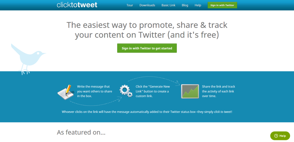click to tweet social media tool