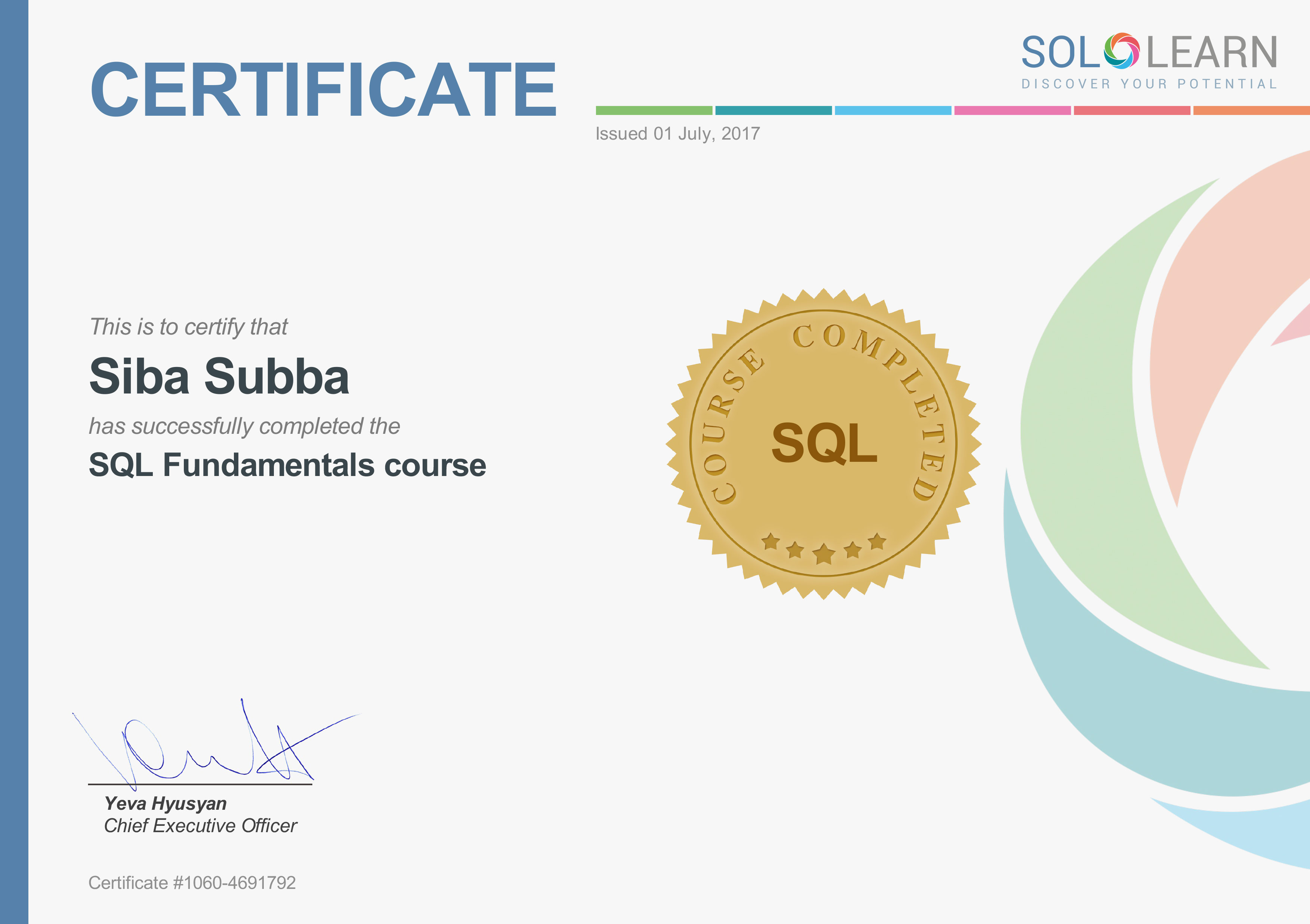 Fresh image of sql certification online business cards and resume certification xflitez Gallery