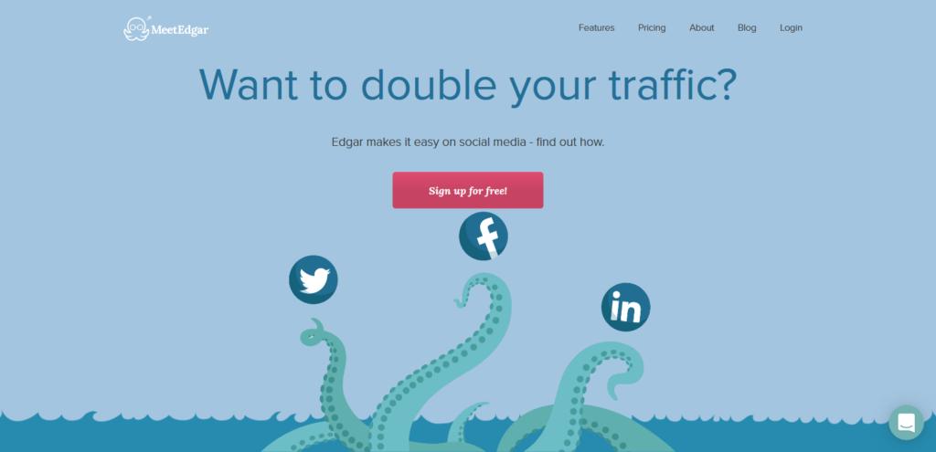 meet edgar social media tool