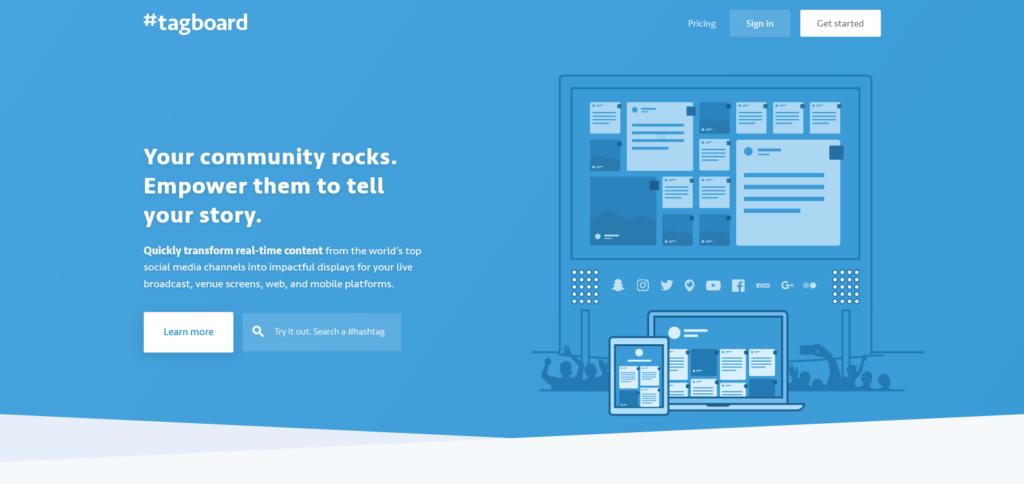tagboard social media tools