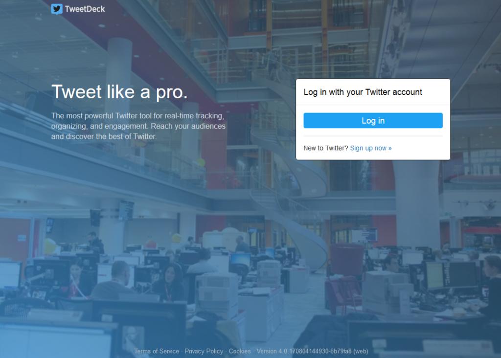 tweet deck social media tool