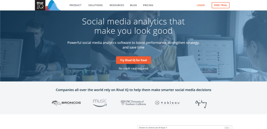 rivaliq social media tools