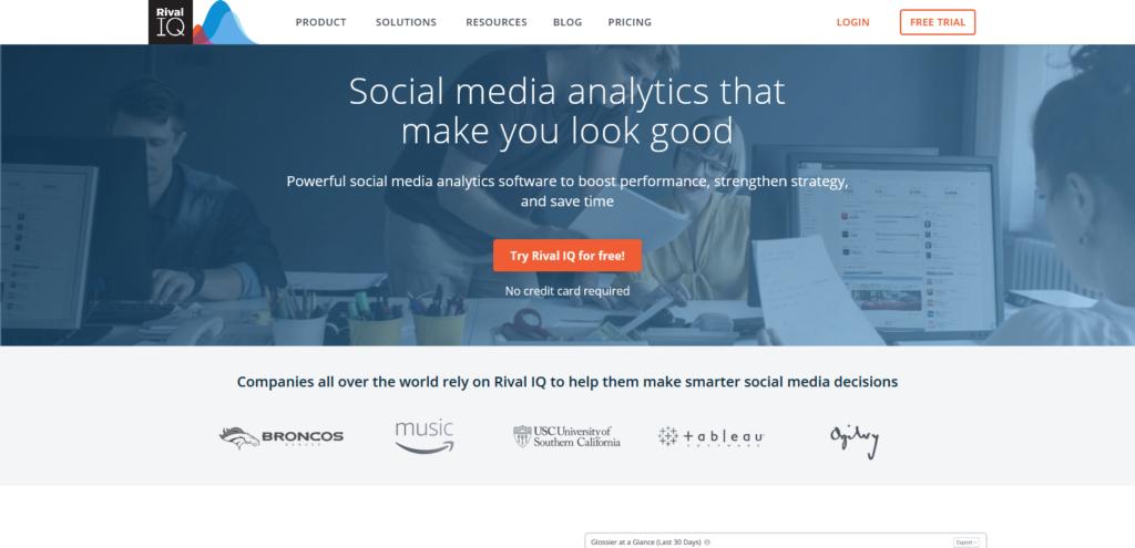 rivaliq social media tools