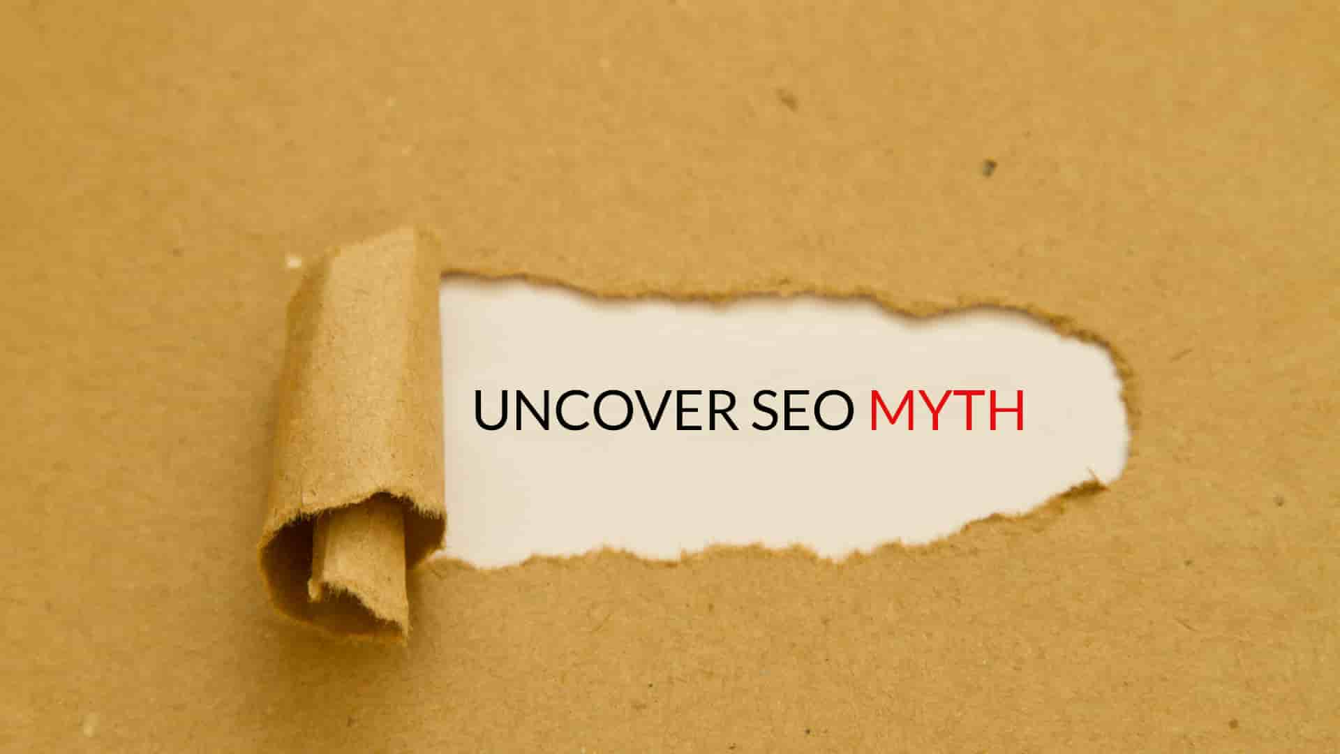 Top 40 SEO Myths Everyone Should Know About